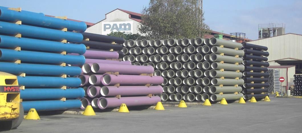 Fábrica de tubería en fundición dúctil - Saint-Gobain PAM