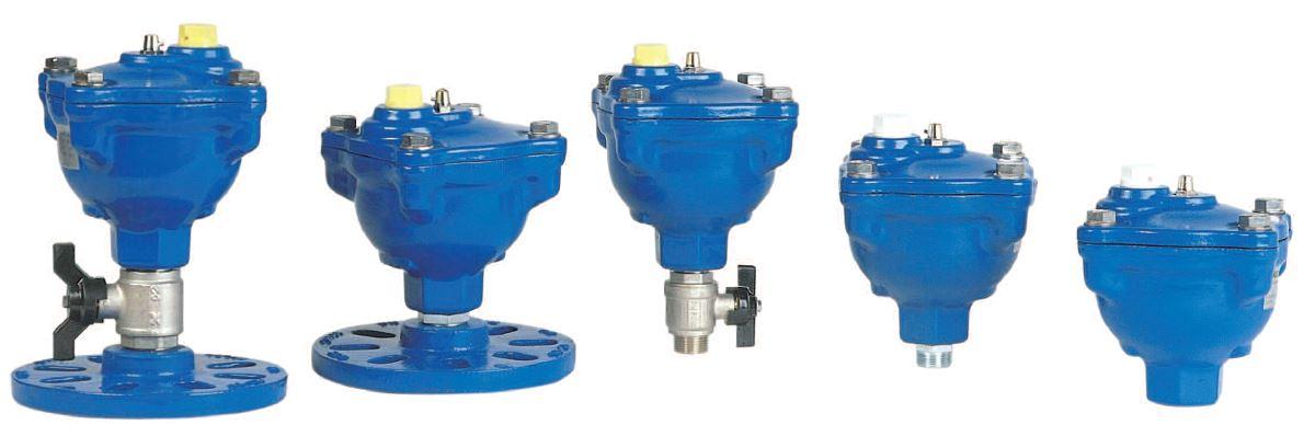Purgadores de aire para redes de agua