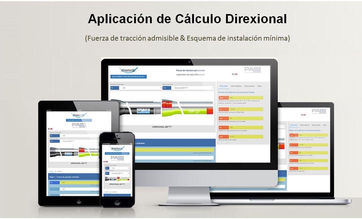 App Direxional, tubería saint gobain PAM
