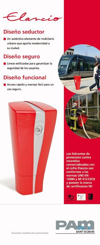 Elancio - Protección contra incendios - bocas de agua