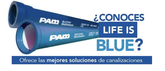 LIFE IS BLUE - TUBERÍA - FUNDICIÓN