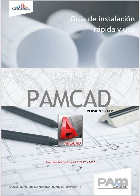 PAMCAD - AUTOCAD - SAINT GOBAIN