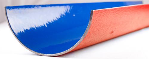 Corte longitudinal de un tubo TOPAZ
