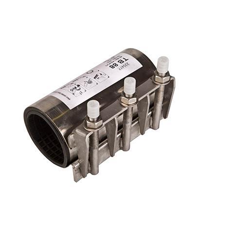 ALLINOX - Abrazadera de reparación multi-material
