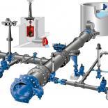 Red agua potable, red de agua potable, fundición dúctil