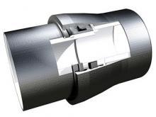 Joint automatique verrouillée UNIVERSAL Vi - déviation angulaire des canalisations en fonte ductile PAM