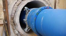 Pose en fourreau - Canalisation en fonte ductile - Saint-Gobain PAM
